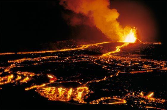 Volcán de Kilauea, Hawaii