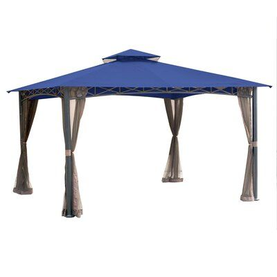 Garden Winds San Rafael Gazebo Replacement Canopy Colour True Navy Material Riplock 350 Fabric Gazebo Replacement Canopy Gazebo Replacement Canopy