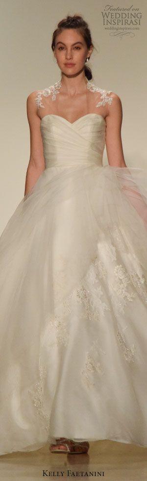 New York Bridal Fashion Week Day 1: Kelly Faetanini Fall 2016 Wedding Dress #weddingdress #weddingdresses #bridal #nybfw #nybm #bfw #newyorkbridalmarket #newyorkbridalfashionweek #newyorkbridalweek #runway #fashionshow #ballgown #runway