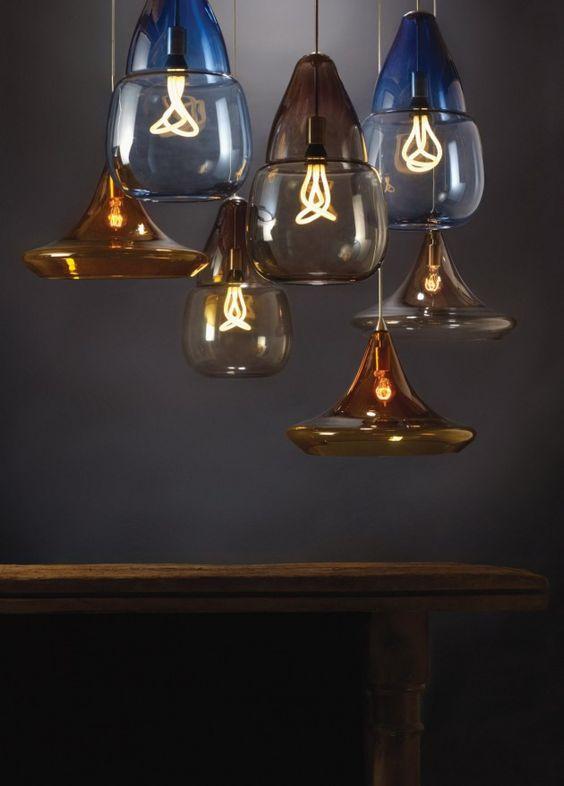 Tech Lighting have designed the Caspian Grande and Mali pendant lights - #lighting #pendantlight