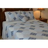 Found it at Wayfair - Bonnie Patchwork Reversible Quilt