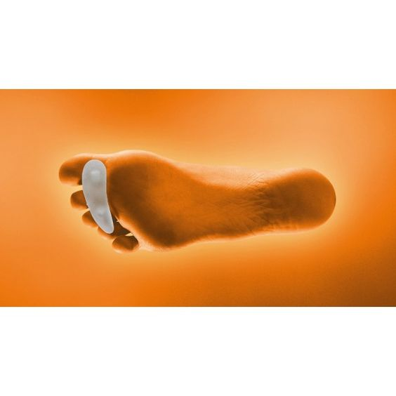 RATONCITO EN GEL PURO - REF: GL-115D (DRCHA) / GL-115I (IZQDA): Alivia el dolor en personas que tienen los dedos en forma de garra o martillo, reduce la presión sobre los dedos del pie y las cabezas metatarsianas.