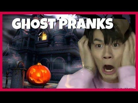 Kpop Idols Vs Ghost Pranks Haunted House Zombies Pt1 Bts Exo Twice Wannaone Ikon Got7 Etc Bts And Exo Kpop Idol Pranks