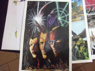 Batedores do Infinito:  mais um poster do Batedores, este trabalho foi to...