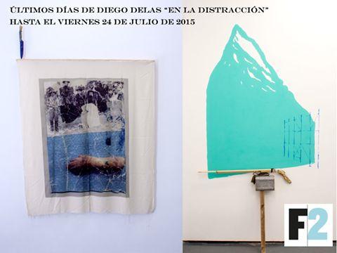 """Diego Delas """"En la distracción"""" en F2 Galería #arte #campocerrado #actividades"""