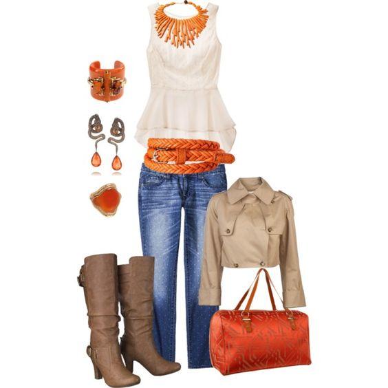 Creamsicle ... Fall into the season with fashion..