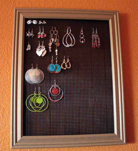 i need something or other for my earrings and other jewelry!