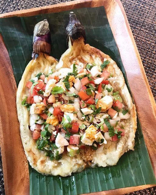 Ensaladang Talong Filipino Eggplant Salad Filipino Vegetable Dishes Filipino Eggplant Recipe Filipino Recipes
