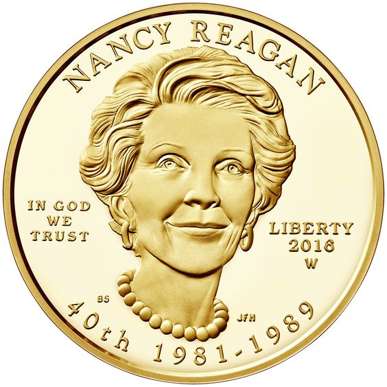 The U.S. Mint - Nancy Reagan coin