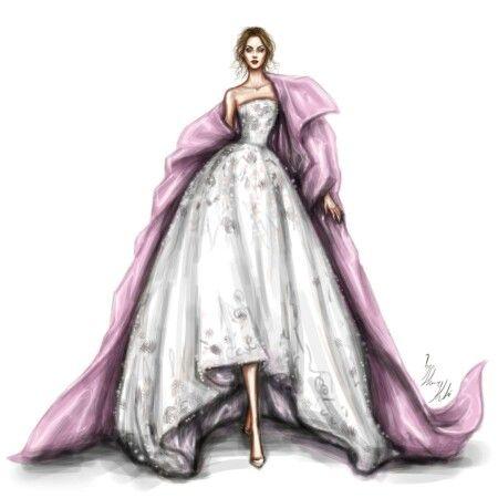 Shamekh illustration pinterest kleiderskizzen kleider und verliebt Fashion style and mode facebook