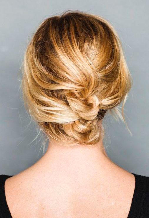 43 Peinados Para Damas De Honor E Invitadas De La Boda El Blog De Una Novia Peinados Poco Cabello Peinados Peinados Cabello Corto