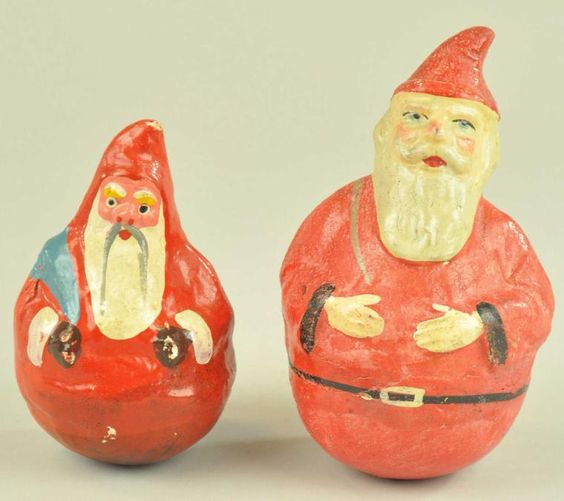 Lot # : 1878 - TWO SANTA ROLY POLYS