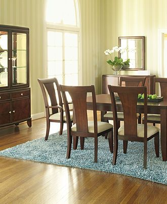 Metropolitan Contemporary Dining Room Furniture Collection