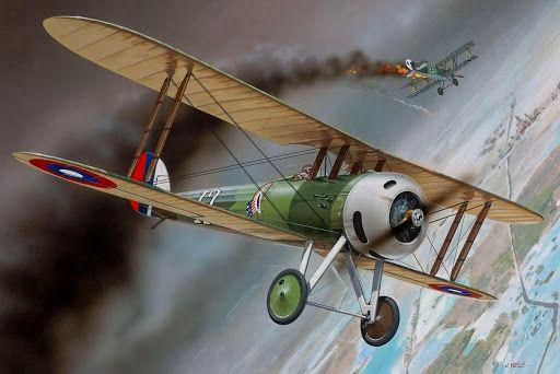Nieuport 28 Rickenbacker BFD: