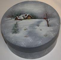 Winter Delight Bentwood Box