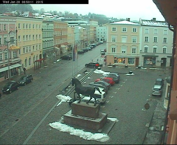 Pfarrkirchen - Germany Live webcams City View Weather - Euro City Cam  #Germany #Deutschland #webcam #niceview #travel #beautifulplace #street #view #Reise #Straße #Wetter #Stadt #city