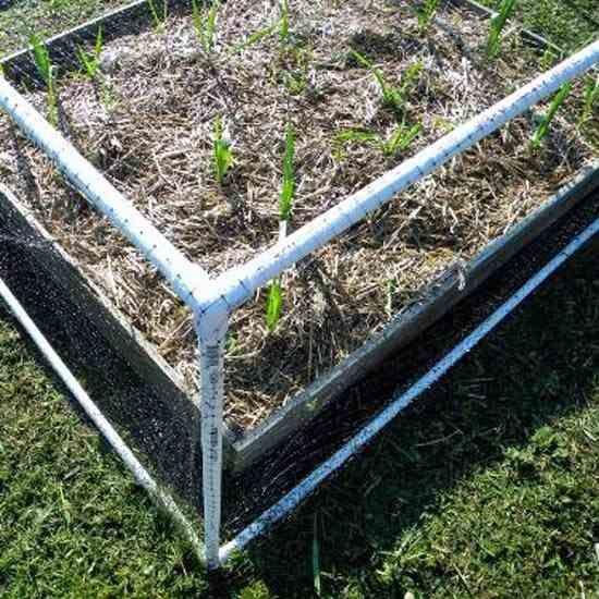 Garden Net Frames With Images Garden Netting Garden Prepping