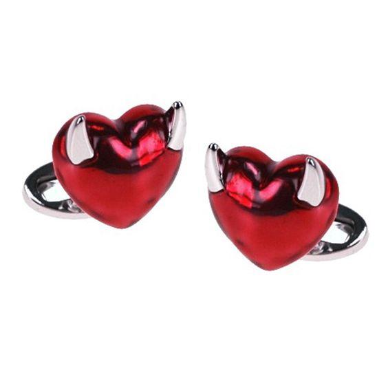 Evil Heart Cufflinks