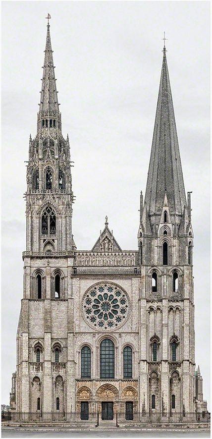 forma es vacío, vacío es forma: Monumentos Catedralde Notre Dame de Chartres, Francia: