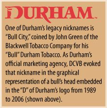 "Durham's Legacy of ""Bull City"""