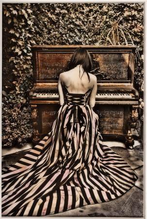 """Piano Girl Eleven"" by Raphael Mazzucco, 2017"