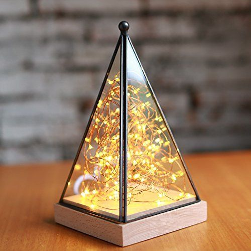 Very Pretty I Would Use Them Around The Nativity Scene On The Mantle Over My Village And Probably A Few Other Places Table Top Lamps Fairy Lamp Lamp Decor