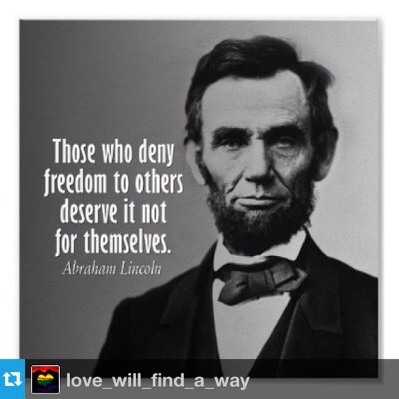 Those who deny freedom... #Lincoln #freedom