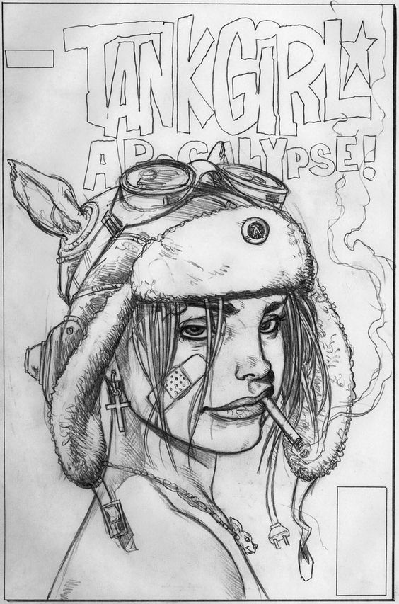 Brian Bolland. (Just me who thinks that Tank Girl looks like Lana??)