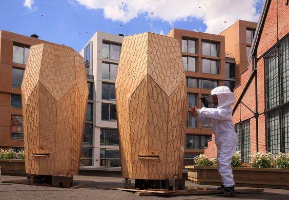 Arkitekttegnede bikuber redder miljøet - BO BEDRE