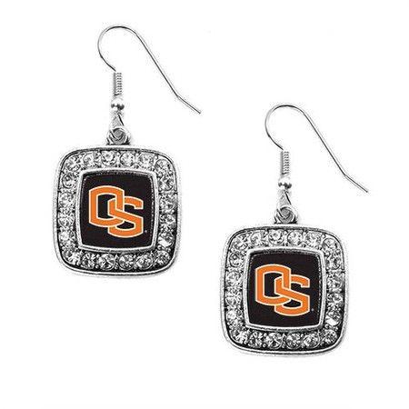Oregon State University Classic Earrings - sterling silver earrings