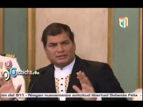 Reporte del Presidente Correa y Danilo Medina #Video - Cachicha.com