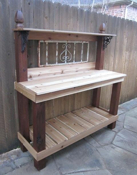 outdoor gardening tables garden planting table garden for ...