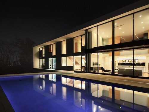 Can you spot a trend here? I love modern architecture.