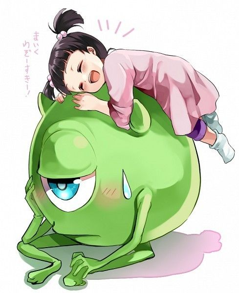 Mike & Boo (Monsters, Inc) | We Heart It