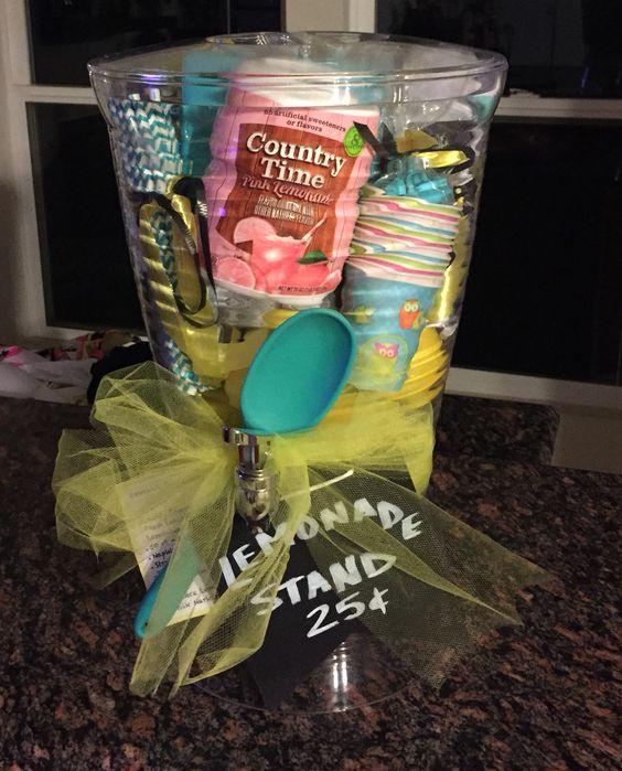 Lemonade Stands Gift Baskets And Lemonade On Pinterest