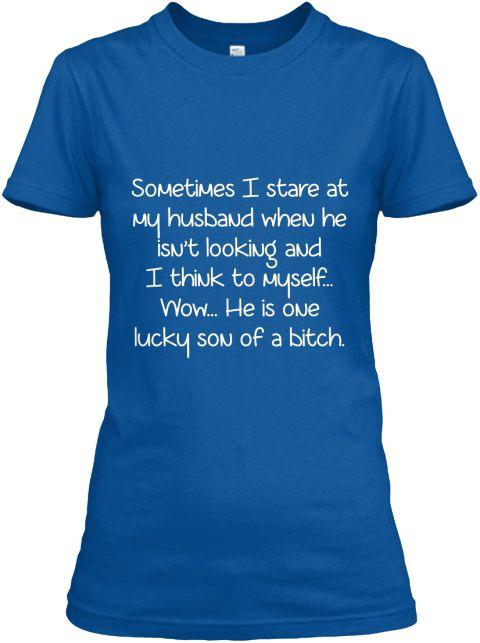 My husband is my bitch