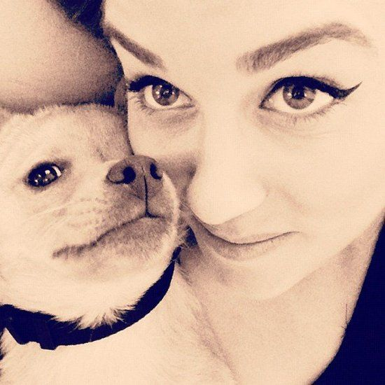 Happy 27th Birthday, Lauren Conrad — Check Out Her Cutest Social Snaps!: Lauren Conrad and Fitz cuddled up for a close-up. Source: Instagram user laurenconrad
