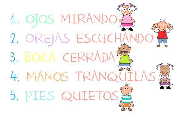 Menta Más Chocolate - RECURSOS y ACTIVIDADES PARA EDUCACIÓN INFANTIL: NORMAS…: