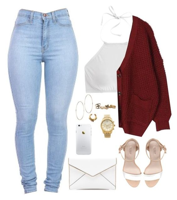 """..."" by milean ❤ liked on Polyvore featuring J.Crew, Zara, Rebecca Minkoff, Forever 21, Wet Seal and Michael Kors:"