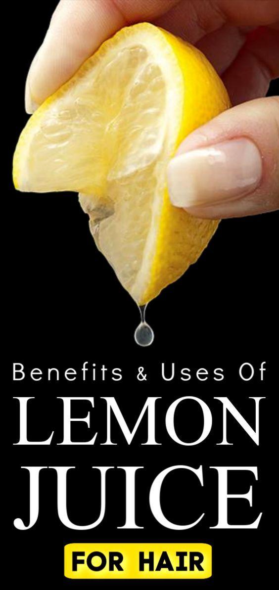 Benefits Uses Of Lemon Juice For Hair In 2020 Lemon Juice Hair