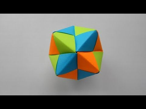 Sonobe Octaedro #Origami #Modular #Sonobe #octahedron #Des… | Flickr | 360x480