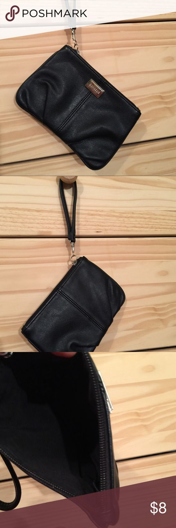 Express simple evening wristlet Cute little wristlet for an evening out. Black, Elegant and simple. In new condition. Express Bags Clutches & Wristlets
