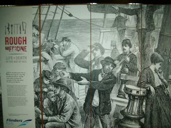 Perth WeekendNotes - Rough Medicine - Life and Death in the Age of Sail - Perth