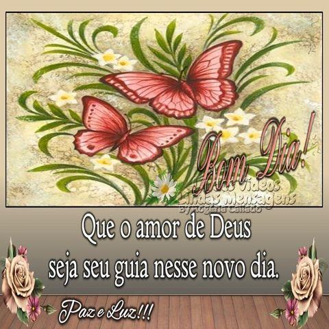 Paz E Luz Com Imagens Mensagens De Bom Dia Frases E Mensagens