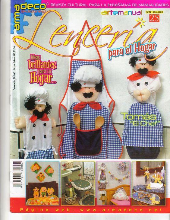 Lenceria De Baño Con Sonia Franco:Revista Lencería para el hogar gratis
