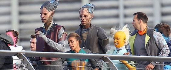 Guardians of the Galaxy #GOTG #Movie #Xandar #NovaCorps #Aliens #MilleniumBridge #Londres  #August11 #2013