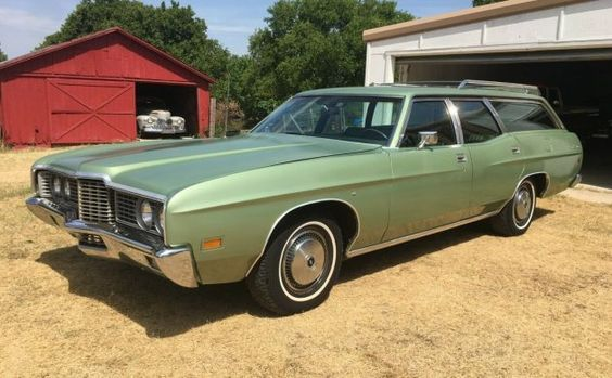 Original And Immaculate 1972 Ford Galaxie 500 Country Sedan With
