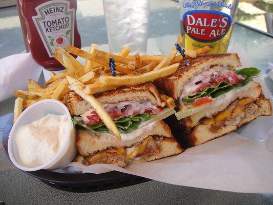 Seriously The Best Sandwich Ever Duck Club From Tattooed Moose In Charleston Sc Food Amp Drink