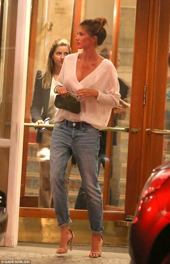All eyes on Gisele! The world watch earlier this month as Gisele took part…