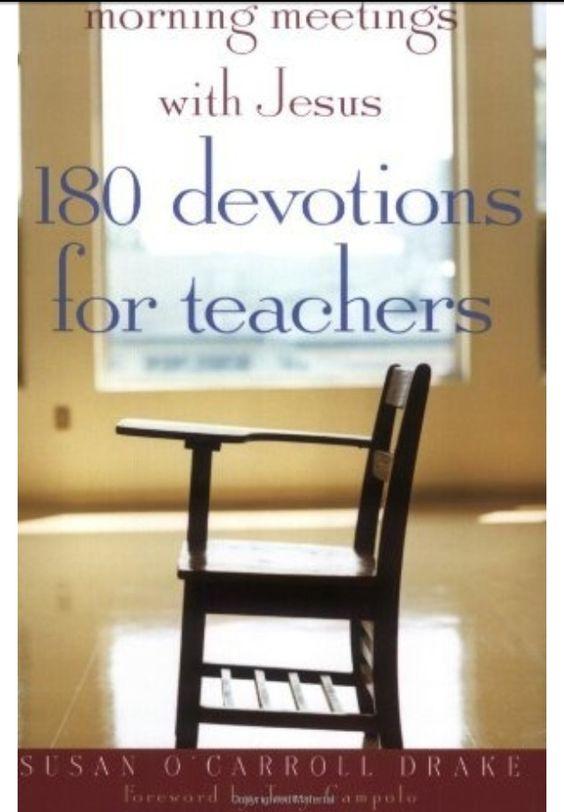 """180 Devotions for Teachers"""